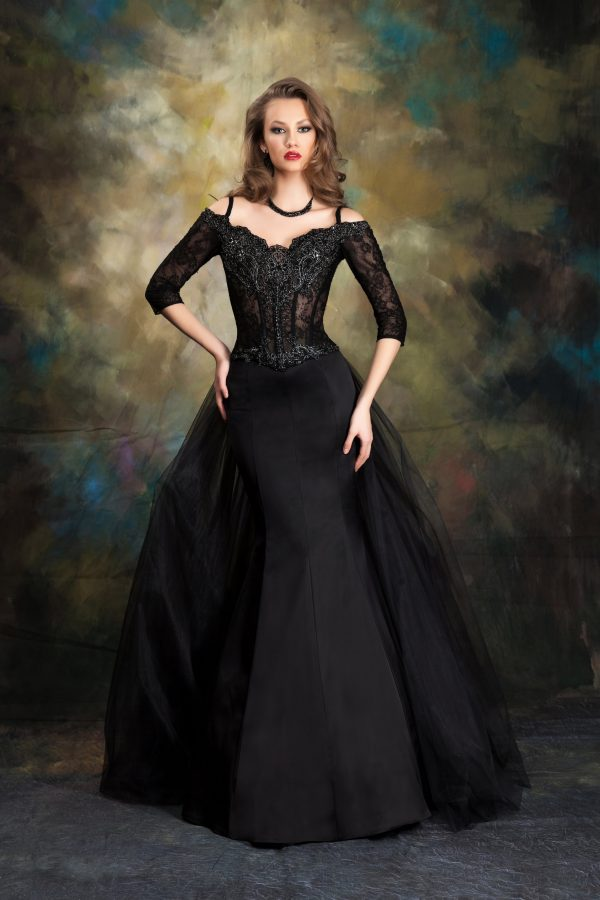 Вечерна рокля - Модел 1741