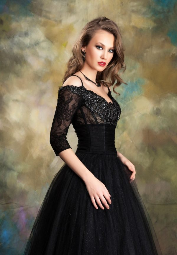 Вечерна рокля - Модел 1744