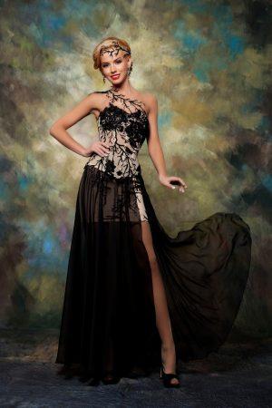 Официална рокля модел 1521