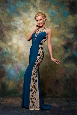 Официална рокля модел 1523