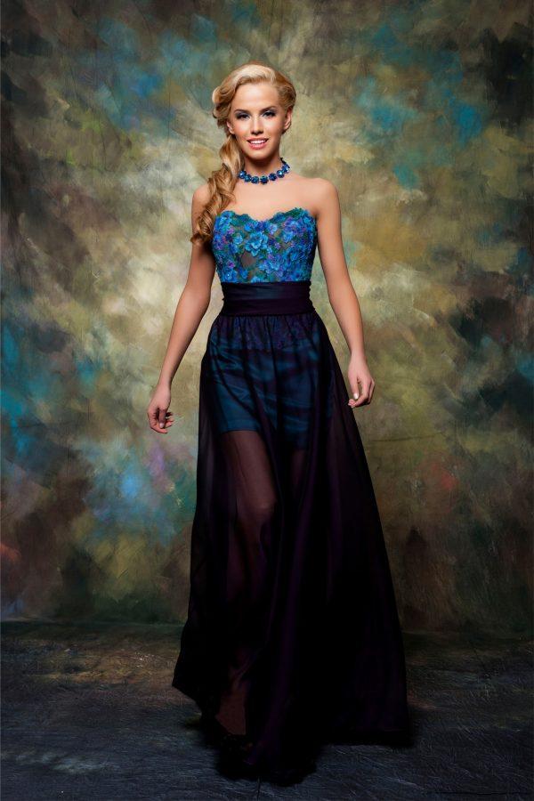 Официална рокля модел 1526