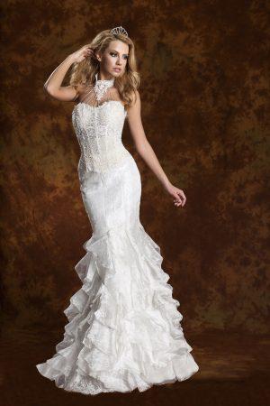 Сватбена рокля модел 1301