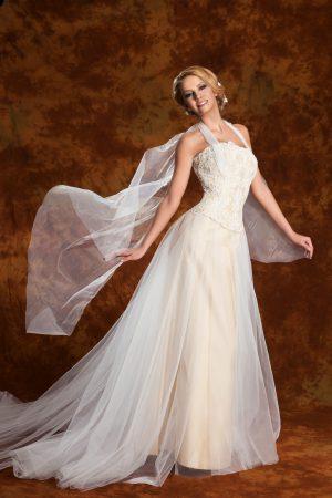 Сватбена рокля модел 1308