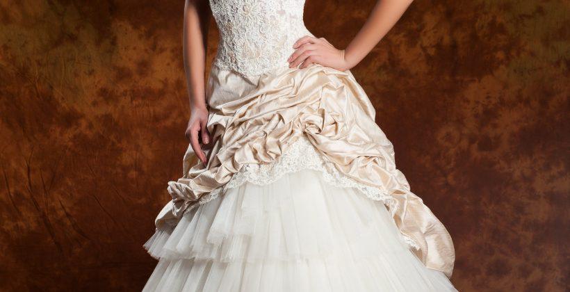 Сватбена рокля модел 1312