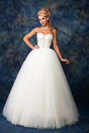 Сватбена рокля модел 1410