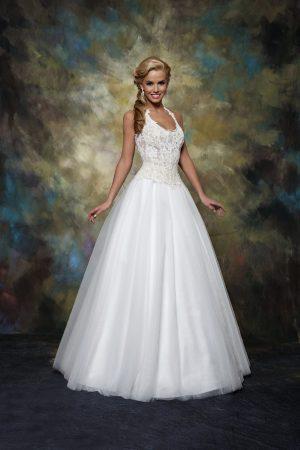 Сватбена рокля модел 1519